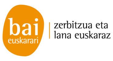 Bai Euskarai. Zerbitzua eta lana euskaraz
